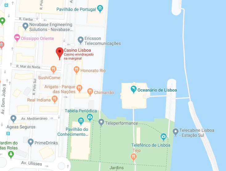 Arena Lounge, Casino Lisboa